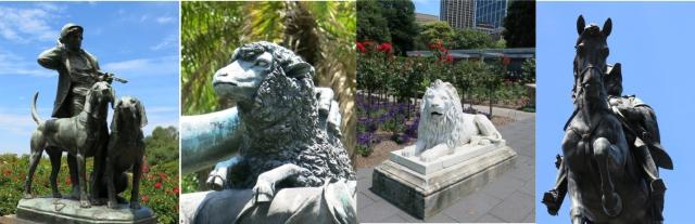Botanic Gardens statues-1