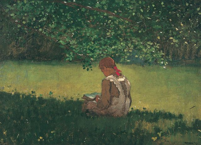 winslow_homer_reading_by_the_brook_1879-_oil_on_canvas-_memphis_brooks_museum_of_art_memphis