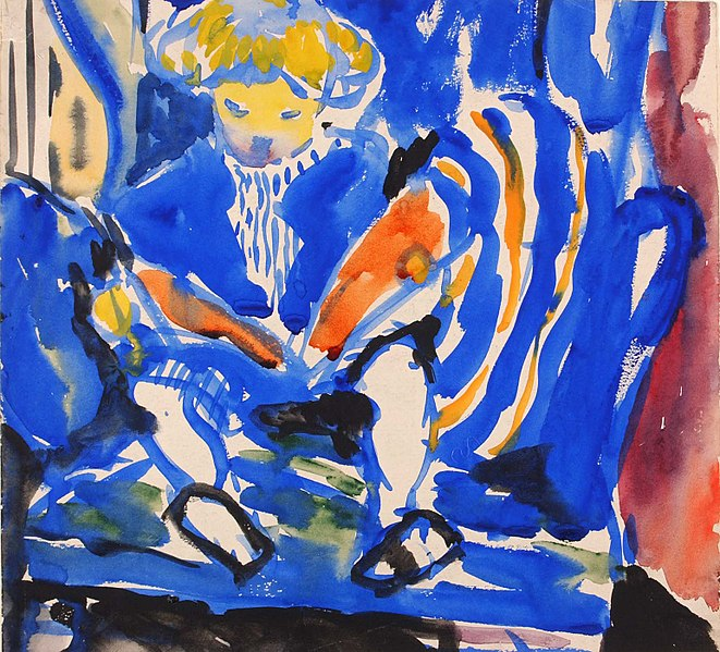 661px-H._Lyman_Saÿen_-_Child_Reading_-_1968.19.11_-_Smithsonian_American_Art_Museum